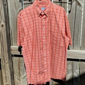 Vintage button up red shirt size L